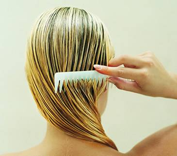 Loción para la caida del cabello