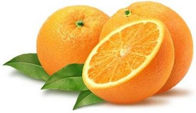 Máscara de naranja y yogurt