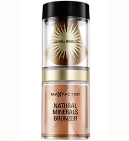 Polvos de sol natural Mineral Bronzer de Max Factor