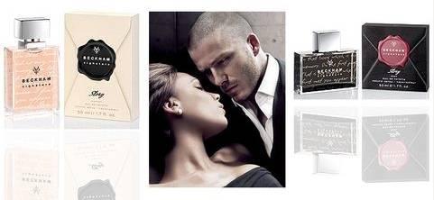 Perfumes Signature Story de David y Victoria Beckham