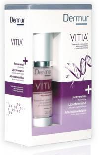 Tratamiento preventivo del envejecimiento celular Vitia de DERMUR
