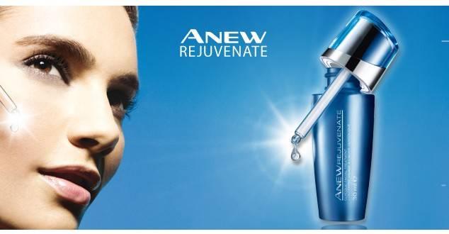 Anew Rejuvenate tratamiento facial con ácido glicólico de Avon