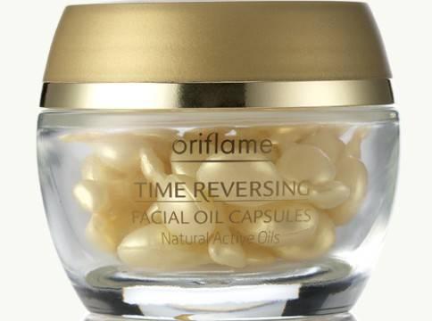 Cápsulas de Aceite Facial Time Reversing de Oriflame