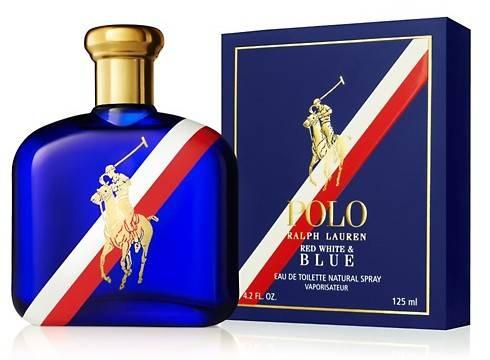 Fragancia masculina de Ralph Lauren Polo Red White & Blue