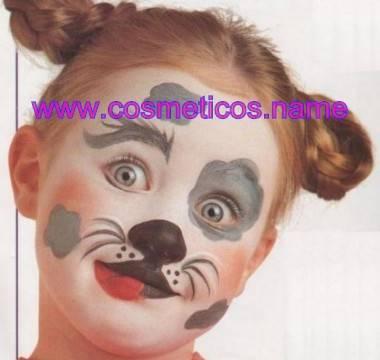Maquillaje de perro para Halloween