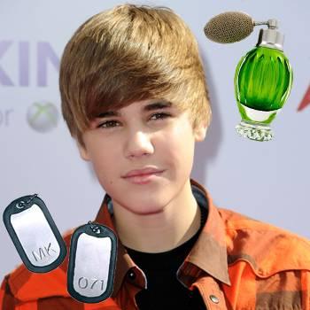 Justin Bieber vende un Helado con Perfume en Londres