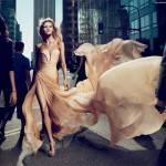 Anja Rubik, modelo de Elie Saab Le Parfum